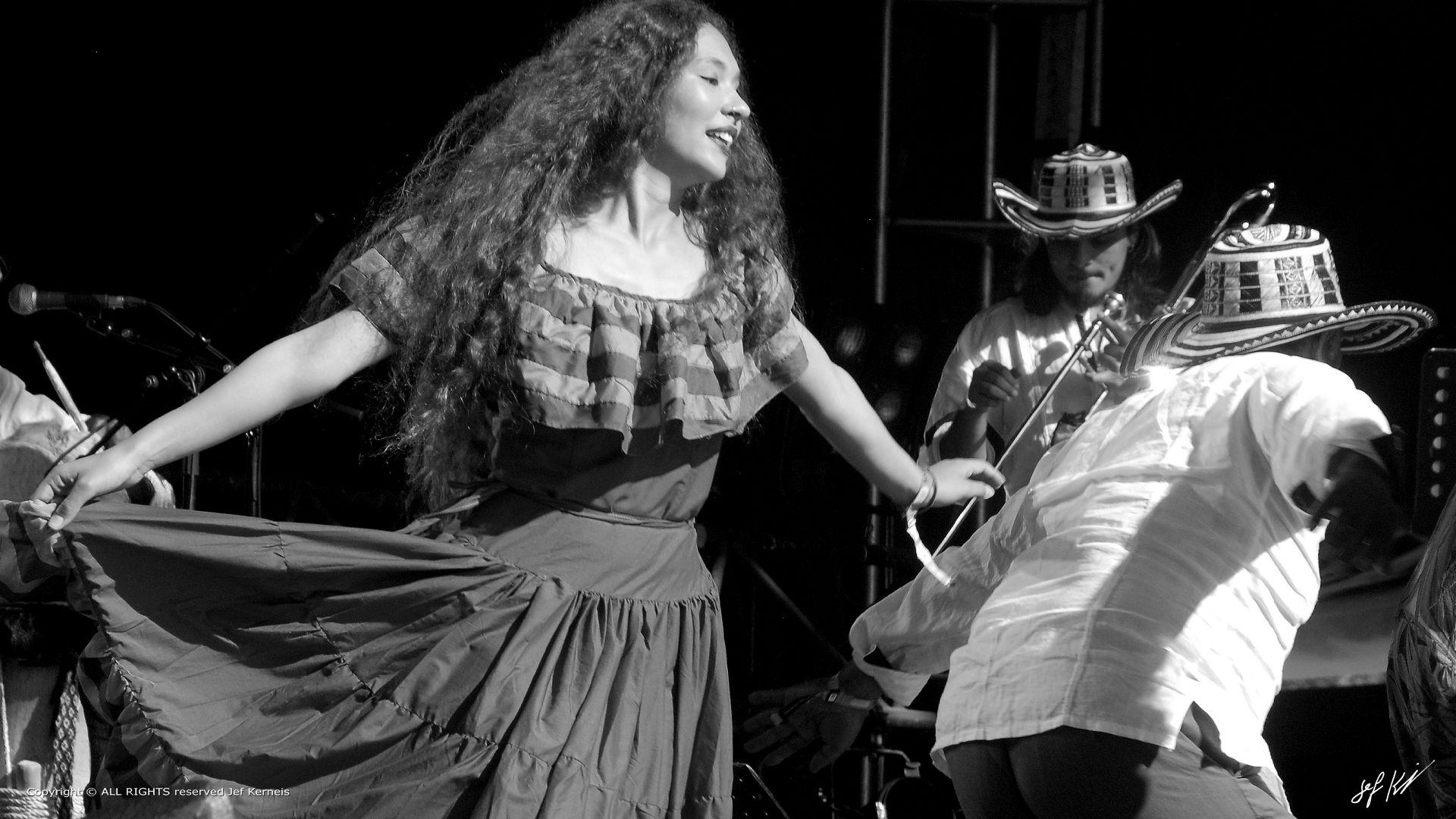 Danseuse de Toto La Momposina